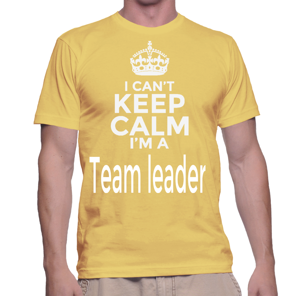 I Can't Keep Calm I'm A Team Leader T-Shirt