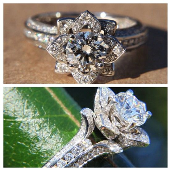 I Would Want A Ring Like This This One Sticks Out A Bit Too High