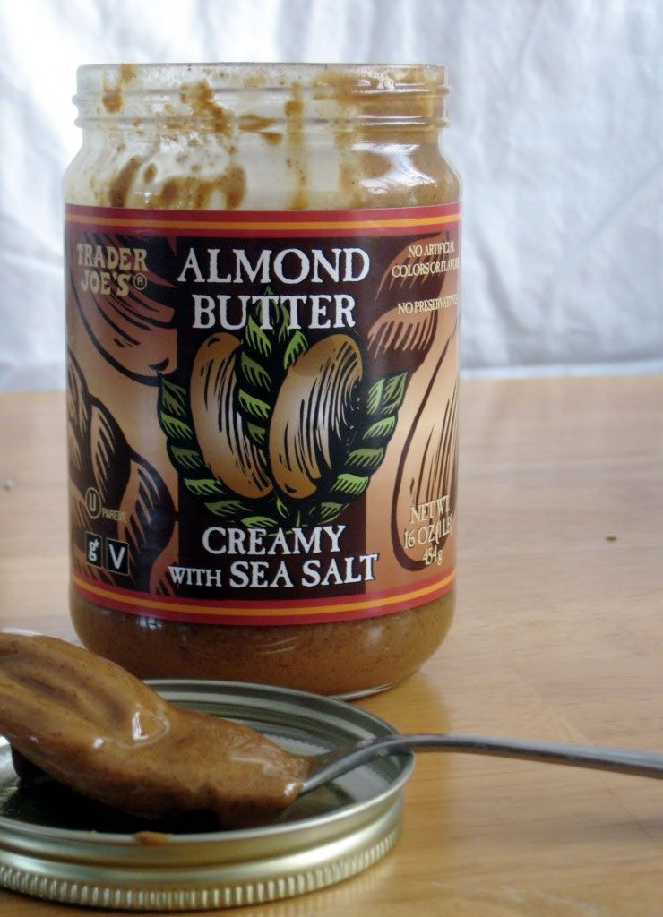 almond butter - good on everything!