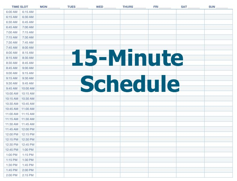 15 Minutes Makes All The Difference I M Taking Back Management Of My Day At A Time Post Includes Free Printables