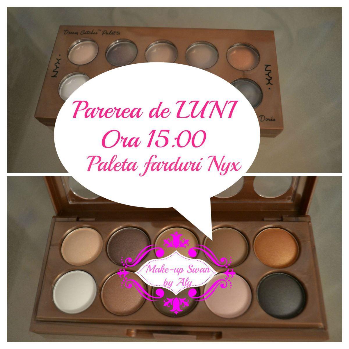 Paleta farduri Nyx Nyx, Makeup, Eyeshadow