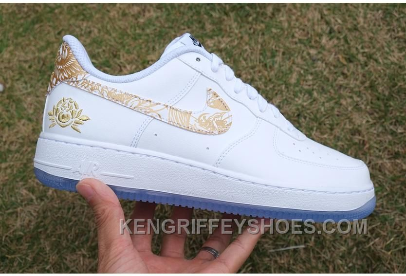 627d6e6a5a1f4 Air Force 1 Chinese New Year White Gold Peony Online Hr66bY in 2019 ...