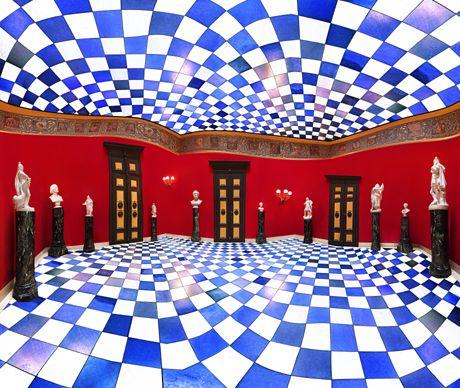 Red Hall, Villa Wahnfried, 2010 by Raissa Venables