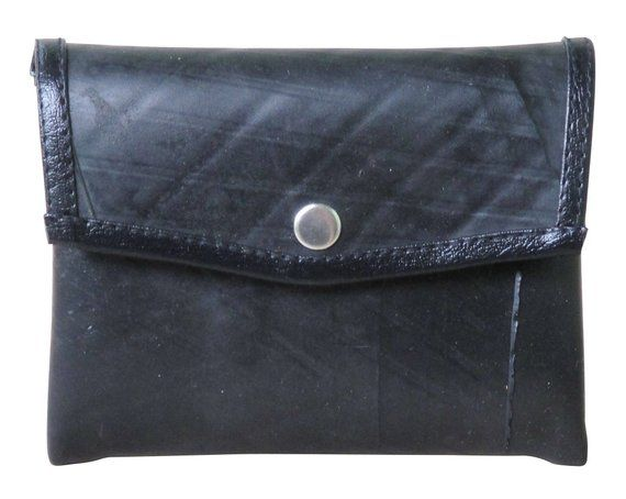 FREE DELIVERY BICYCLE WALLET with COIN POCKET from Reclaimed Bike Inner Tube