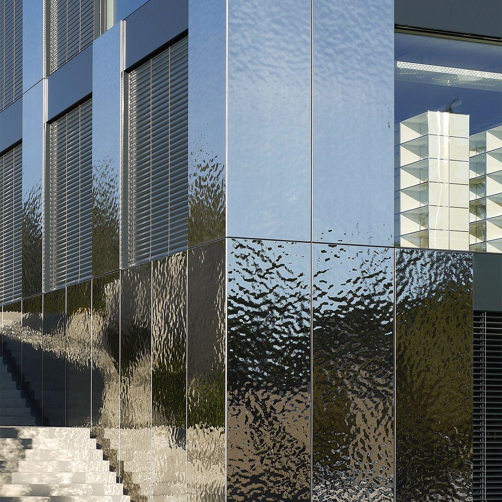 Front In Aluminium Panel Facades : Metal facade panels imgkid the image kid has it