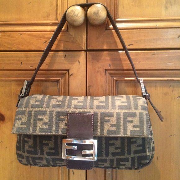 Reduced Vintage Fendi Zucca Baguette Fendi Fendi Bags Bags