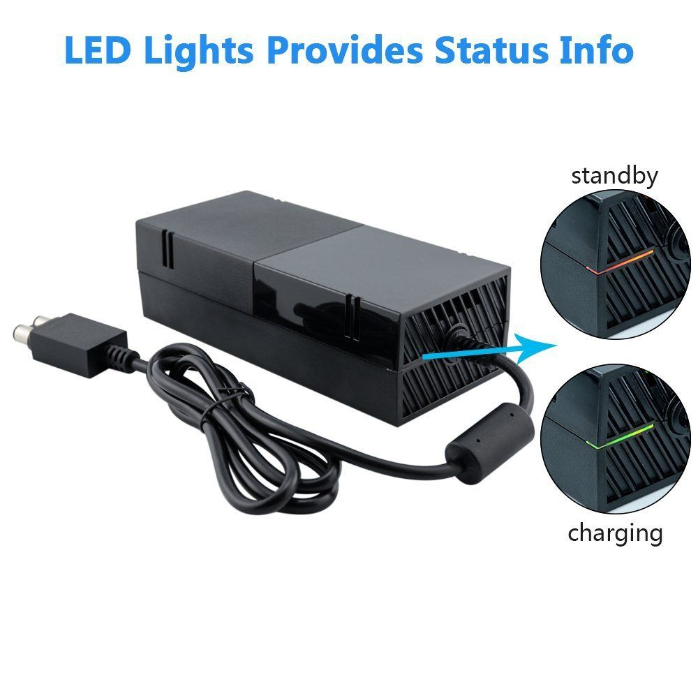 Xbox One Power Supply Xbox One Power Brick Power Box Replacement Adapter Ac Power Cord Cable For Microsoft Xbox One Brick Box Supp Xbox One Ac Power Xbox