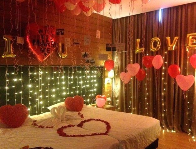 First Night Bed Decoration Wedding Room Decorations Wedding House Decoration First Night Dec Romantic Room Decoration Wedding Room Decorations Romantic Room
