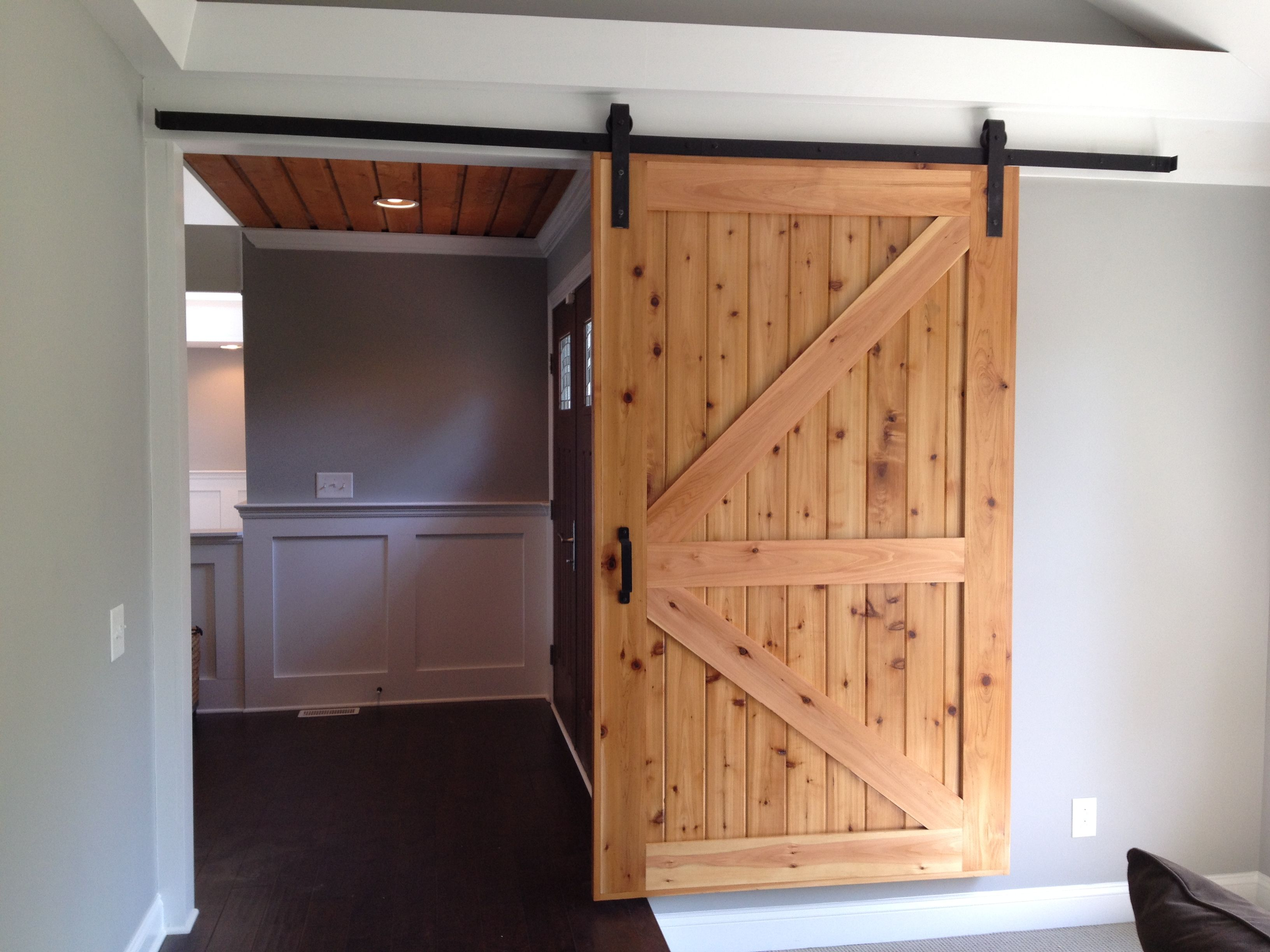 Rustic 80 sliding barn door hardware is ideal for barn conversions rustic 80 sliding barn door hardware is ideal for barn conversions period properties or simply cedar doorinterior planetlyrics Choice Image