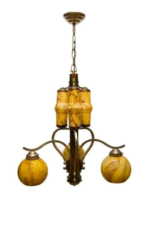 Art Deco Lamp Art Deco Lampen Antieke Lampen Art Deco Verlichting
