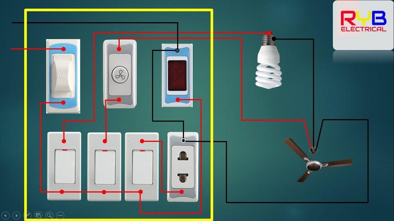 house wiring of electrical main board electrical board wiring bangladesh  [ 1280 x 720 Pixel ]