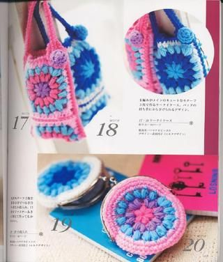 Crochet Scarves And Bags Japanese Crochet Japanese Patterns And