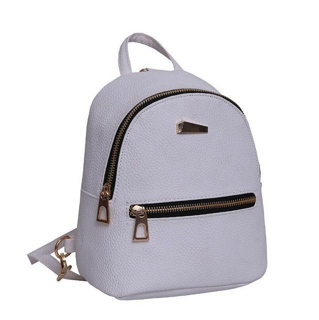 e34e8ef59c fashion Mini Backpack For Teenage Girls School Bags high quality Female  leather small Backpack woman Back Pack sac a dos femme