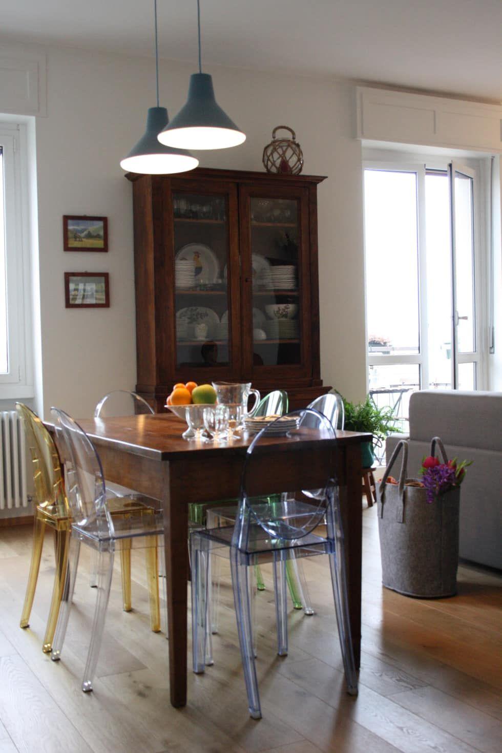Casa dei colori studio ferlazzo natoli sala da pranzo ...