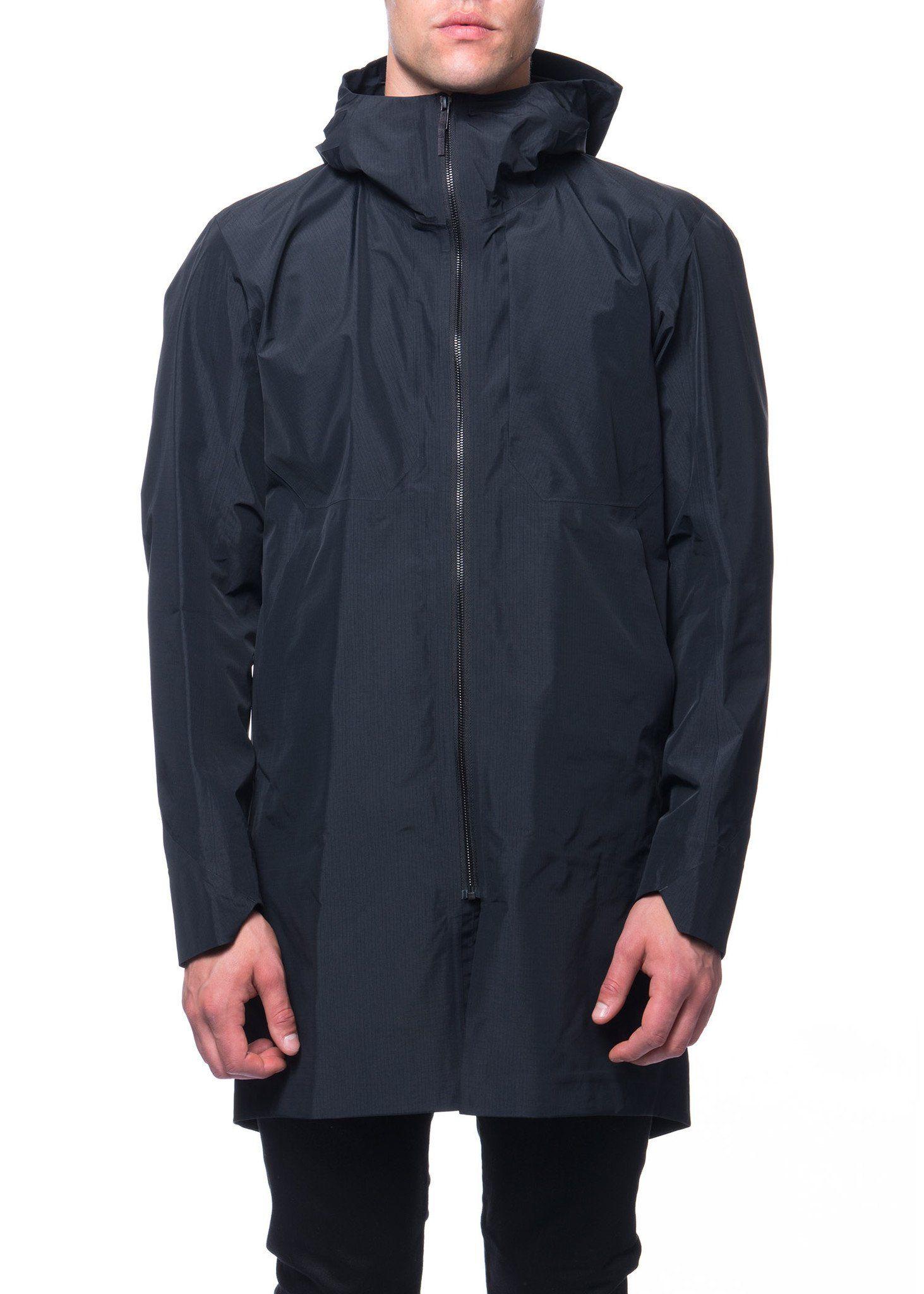 b2eb95f300 Arc'teryx Veilance - FW16 - Menswear // Black Monitor coat without  insulation