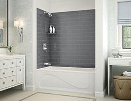 Vichy A Alcove bathtub MAAX Professional Renovation Ideas
