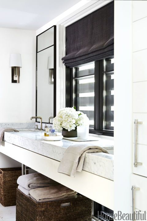 Decor Ideas That Make Small Bathrooms Feel Bigger Towels The - Oversized bath towels for small bathroom ideas