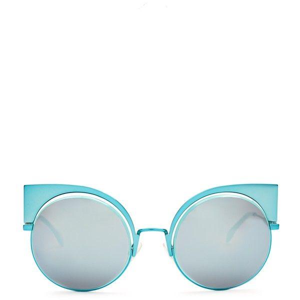 53ffe30dffd Fendi Round-frame metal sunglasses (31