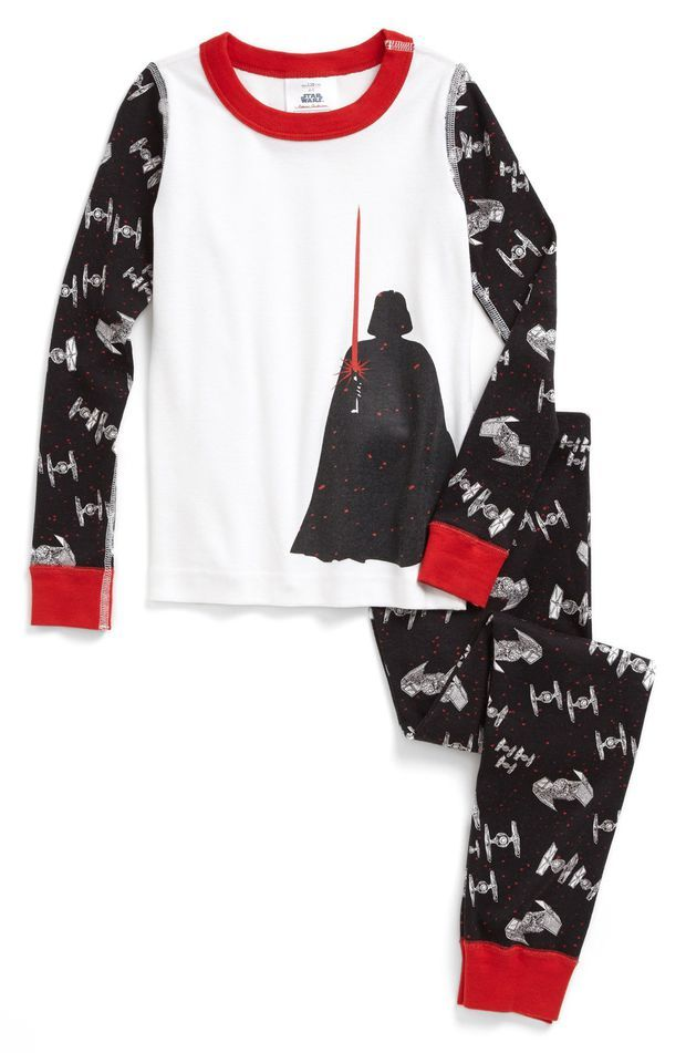 3c2105a1da Hanna Andersson  Star Wars™ - Darth s Light  Two-Piece Fitted Organic  Cotton Pajamas (Toddler Boys)