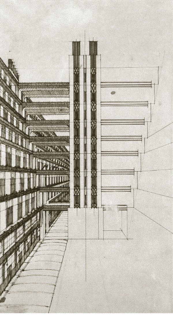 Futurist Architecture Drawings Of Antonio Santelia Modernism