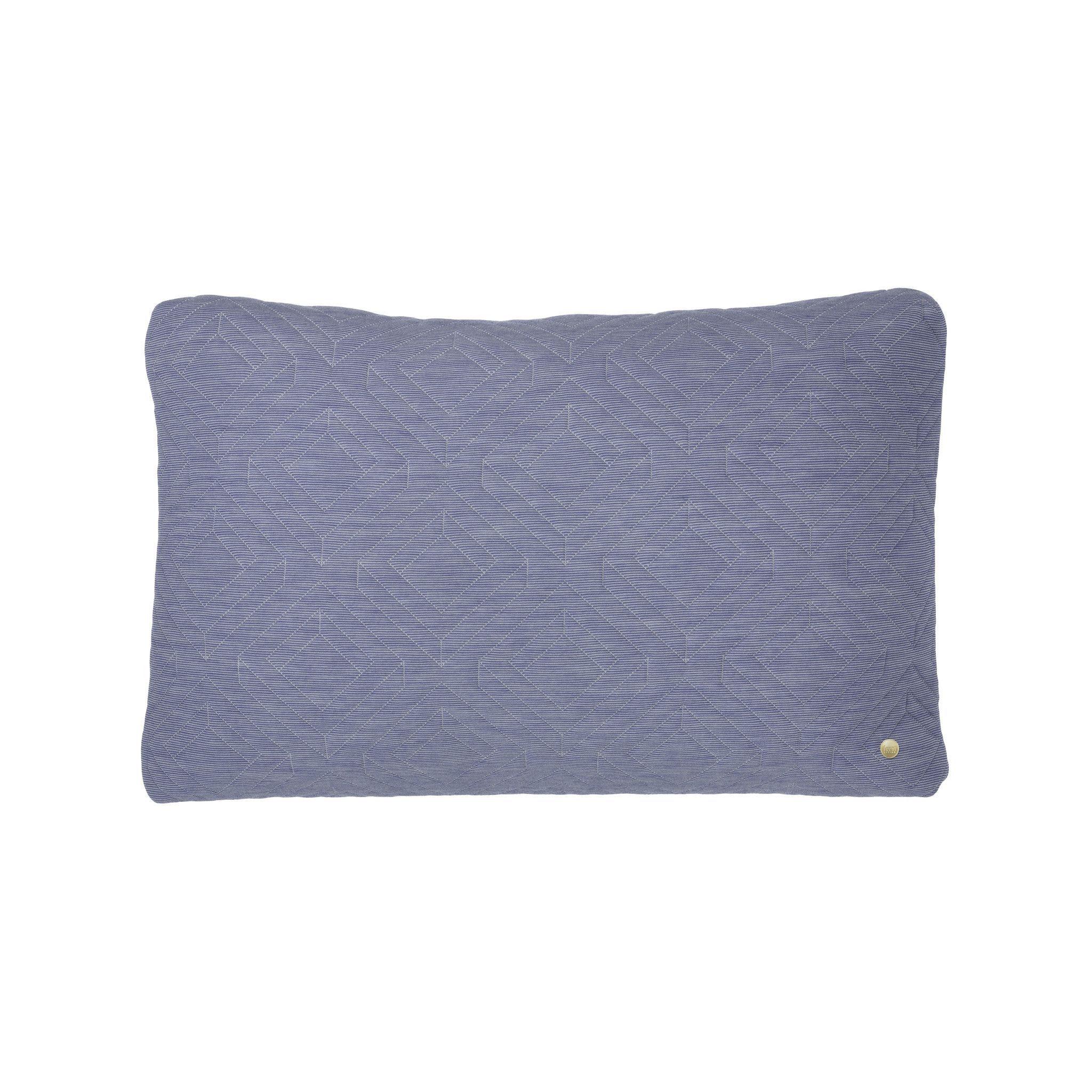 Quilt Cushions with Brass Zipper