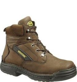 0bc89954bd6 W04109 Wolverine Men's PK Mesh Lining Safety Boots - Brown ...