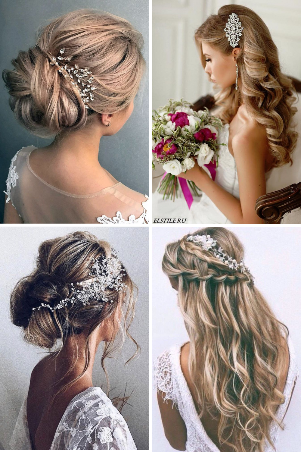 11 Lovely Wedding Hairstyle Ideas You Will Fall In Love Wedding Hairstyles Beach Wedding Hair Hair Styles
