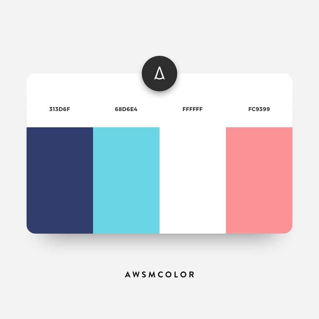 Awesome Color Palette No 101 By Awsmcolor Website Color Schemes Web Design Color Flat Color Palette