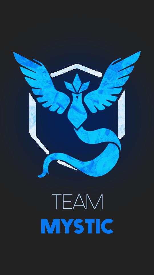 DeviantArt: More Like Pokemon Go Team Mystic Wallpaper by ...