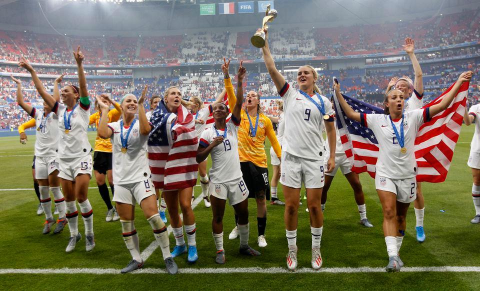 Women S World Cup Final 2019 Recap Usa S Megan Rapinoe Rose Lavelle Lead Uswnt Over Netherlands Femenina