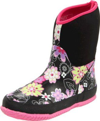 Amazon.com: Western Chief Neoprene Floral Play Rain Boot (Toddler/Little Kid/Big Kid): Shoes