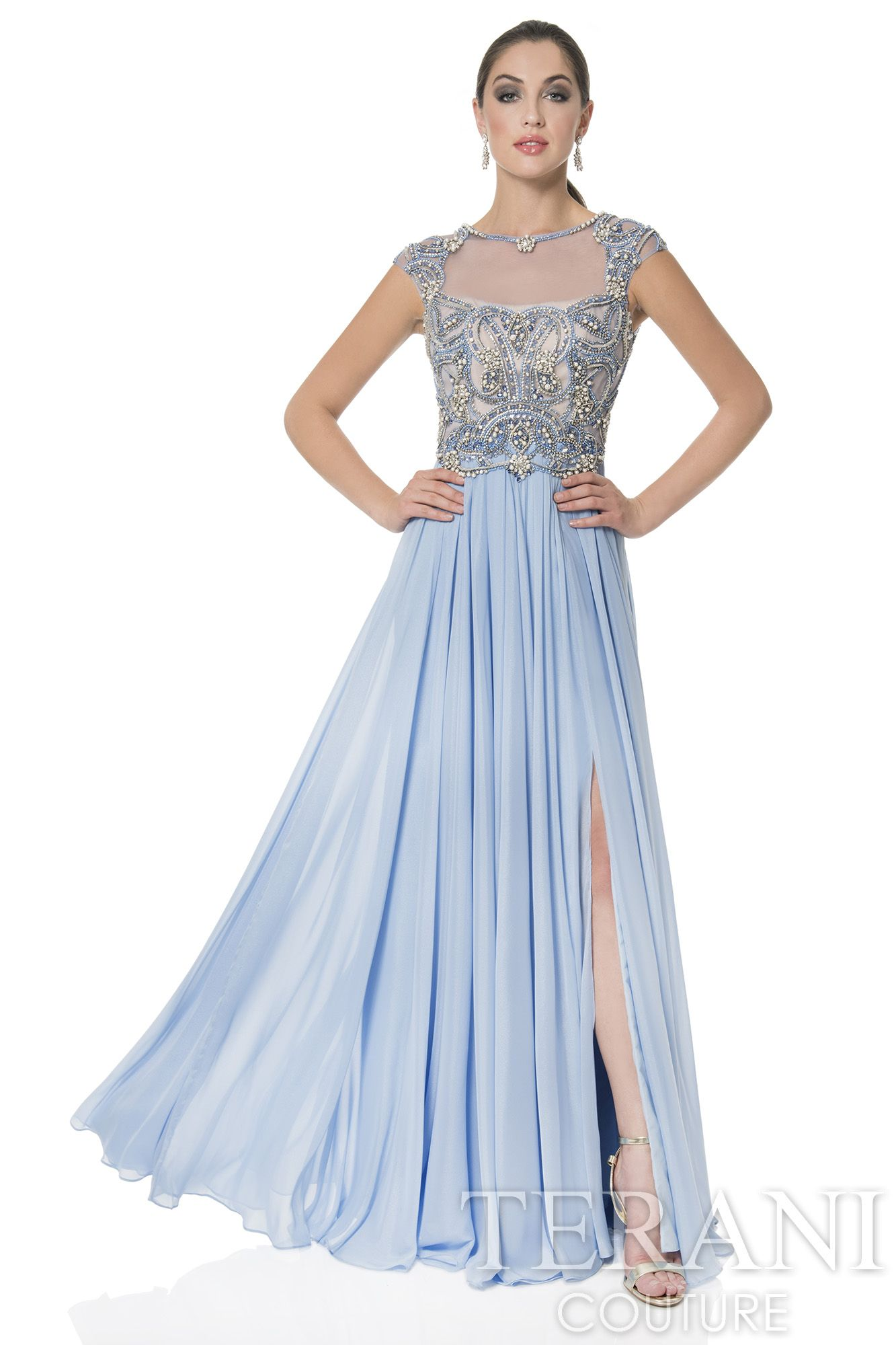 Terani Couture MoB Dresses 1613M0712 - USA Prom Dress http://bit.ly ...