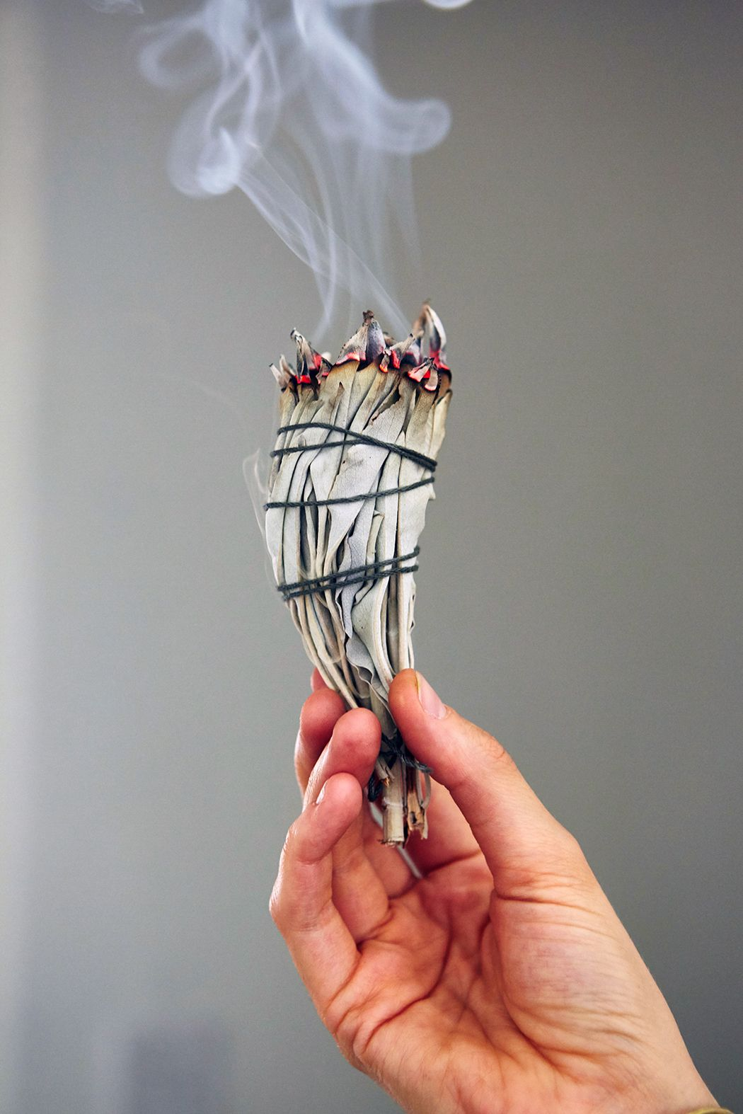 Smudge with Sage to get rid of stagnant or bad energy clinging to old furniture and other items.