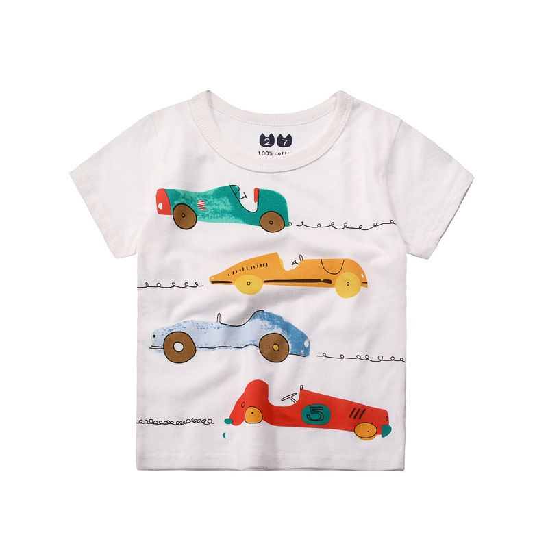 455489e7 Check out my new Fun Racing Car Print Short Sleeves Tee for Boys, snagged  at a crazy discounted price with the PatPat app.