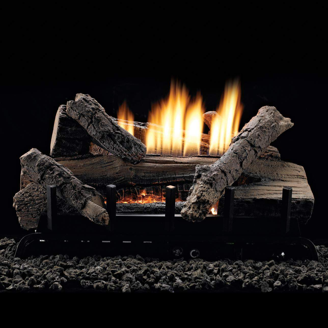 White Mountain Hearth By Empire 24 Inch Whiskey River Gas Log Set