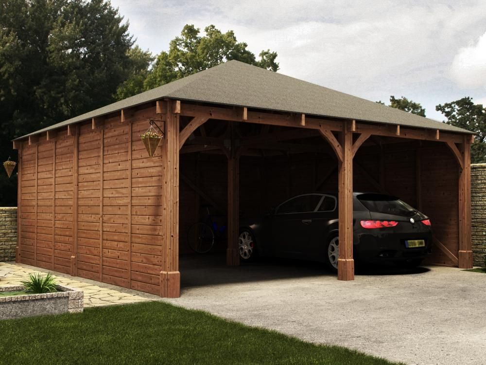 Our Hercules Double Carport ensures you car is shielded