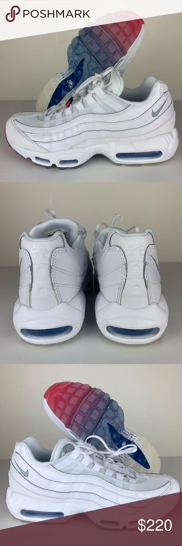 5bdae4dd81 Nike Air Max 95 Fourth of July Glacier Blue White NIKE AIR MAX 95