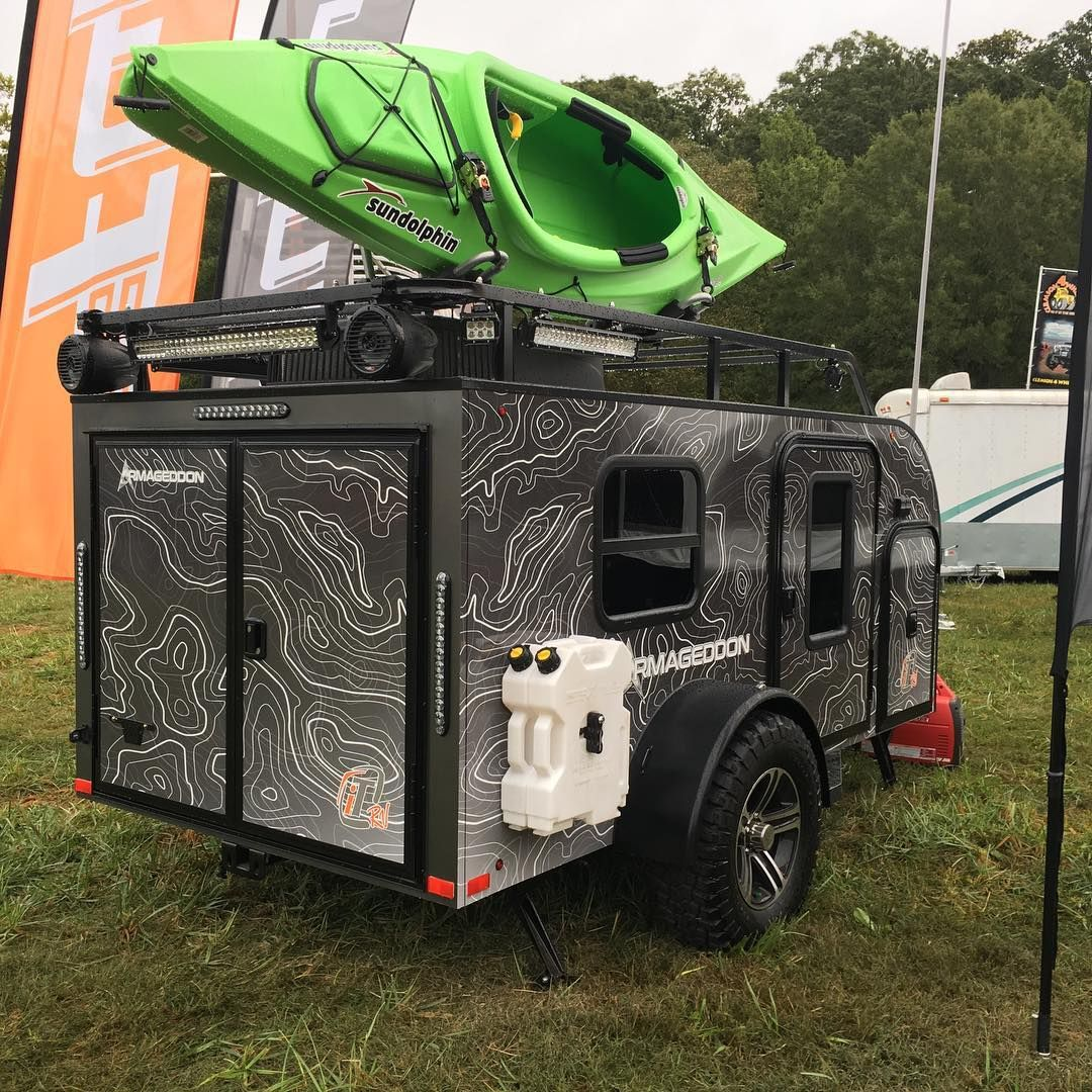 Airstream For Sale Bc >> Armageddon the ultimate off-road camper by inTech RV. #rv #teardroptrailer #teardroptrailer # ...