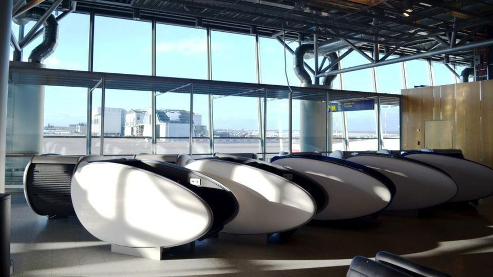 Helsinki-Vantaa Airport offers weary travellers GoSleep Sleeping Pods. Passengers who find themselves stuck for hours at Helsinki Airport bleary-eyed and in dire need of a nap now have the option of getting some rest in one of the airport's new sleeping pods.
