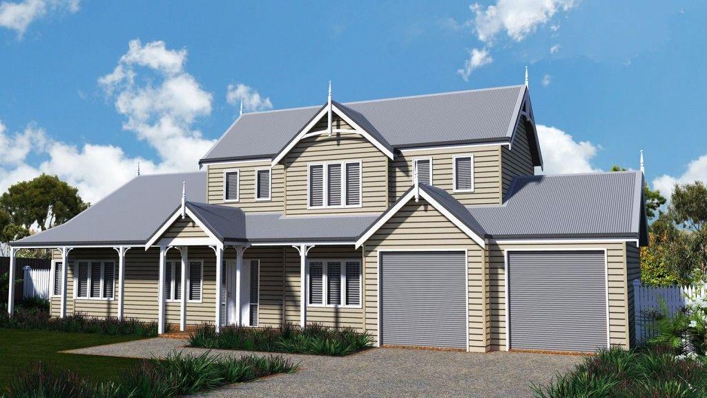 Gisborne House   Storybook Designer Kit Homes Australia