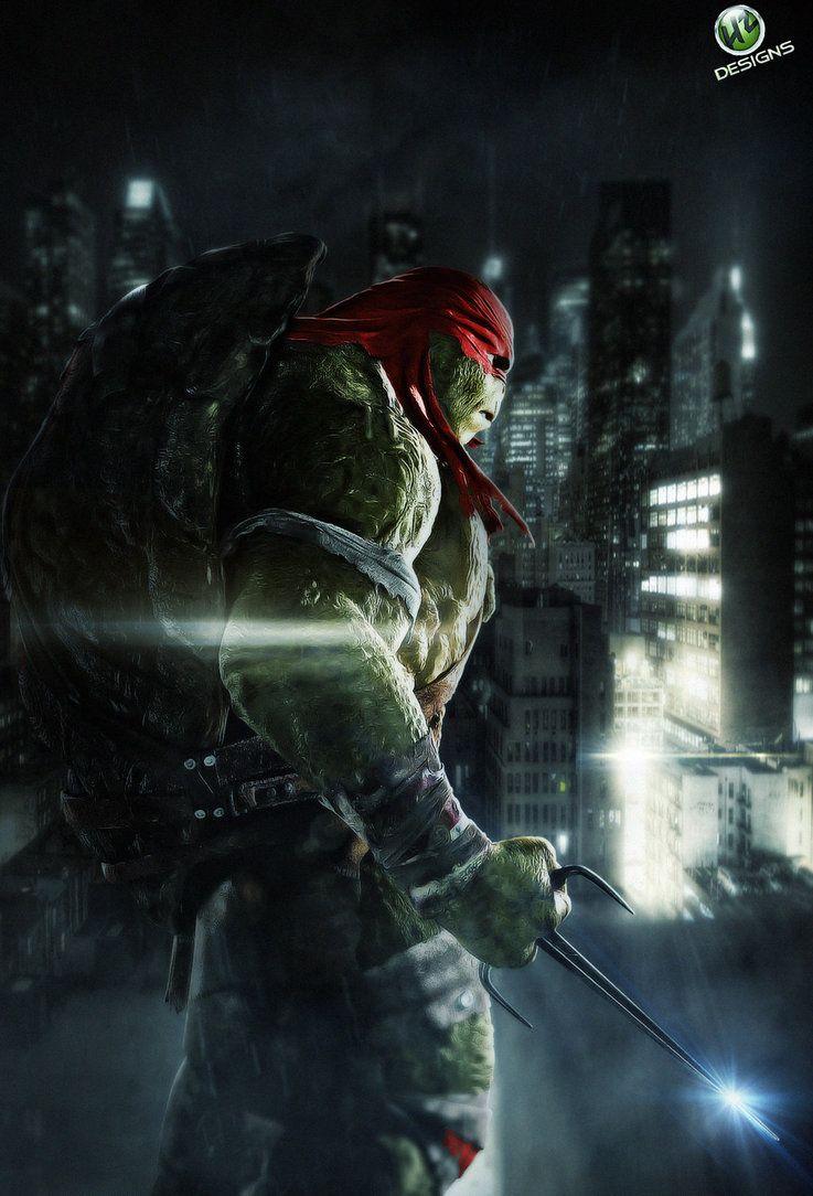 Tmnt Raphael By No Look Pass Teenage Mutant Ninja Turtles Movie