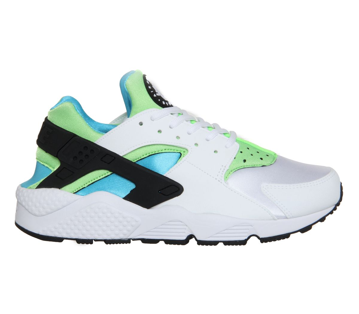 brand new 58a35 eb488 Nike Air Huarache White Clearwater Flash Lime - Unisex Sports (I have these)