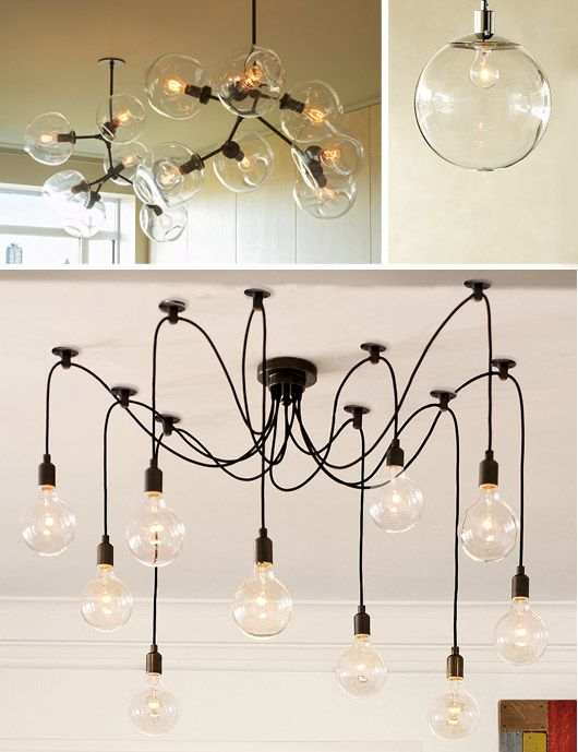 bare bulb lighting. How To Make Bare Bulb Light Strands | Trend: Lighting Blog B