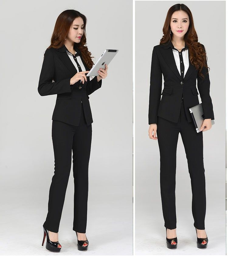 Aliexpress.com : Buy Novelty 2014 Autumn Women Work Wear Suits ...