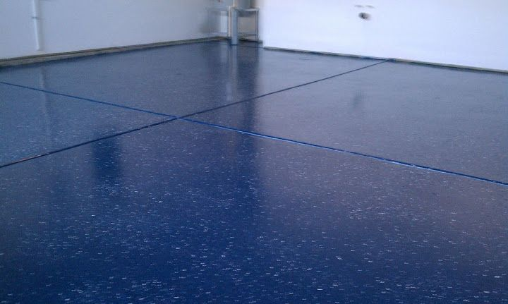 The most beautiful epoxy garage floor Ive done  royal