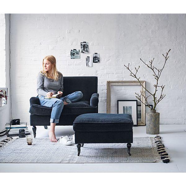 Miavilla Sessel Samt Schwarz Ideen Rund Ums Haus In 2019 Sessel