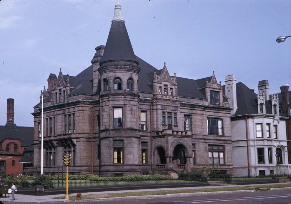 The John Cudahy Mansion 3254 S Michigan Ave Built 1888 Demolished 1961 Chicago Chicago Architecture Mansions Chicago Buildings