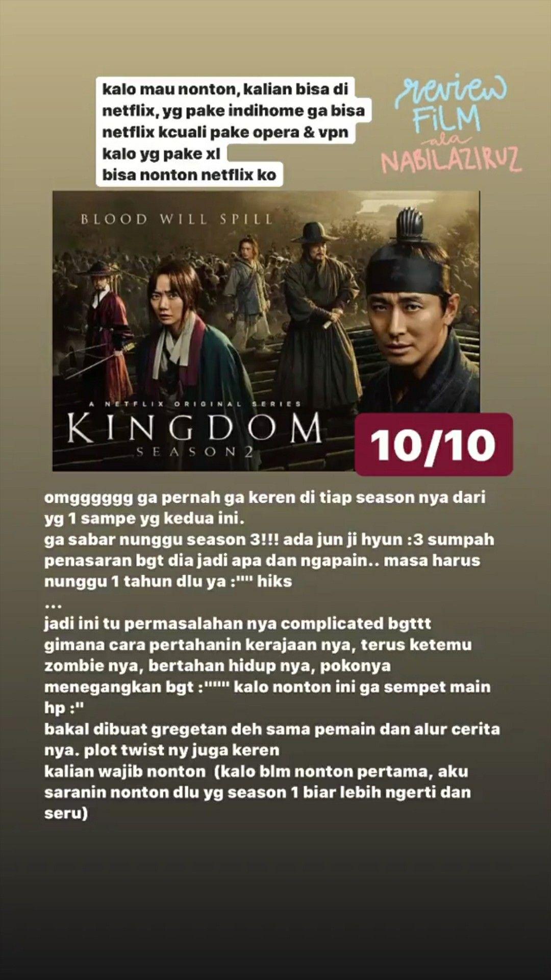 Nonton Drama Korea Kingdom Season 1 : nonton, drama, korea, kingdom, season, Kingdom, Kdrama, Drama, Korea, Rekomendasi, Netflix,, Romantis,