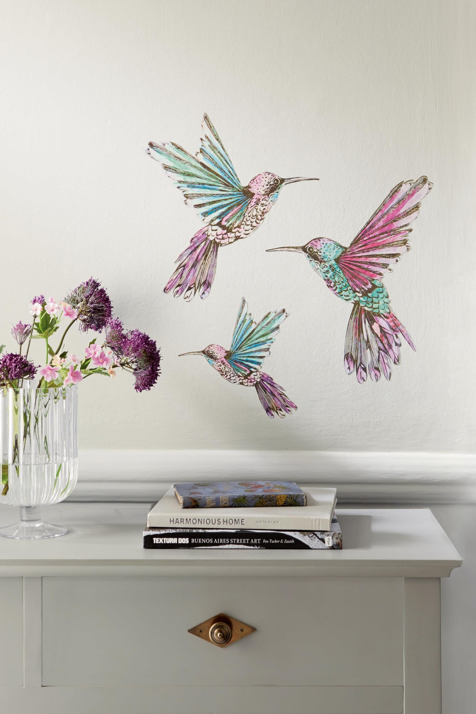Buy Hummingbird Wall Sticker From The Next Uk Online Shop Wall
