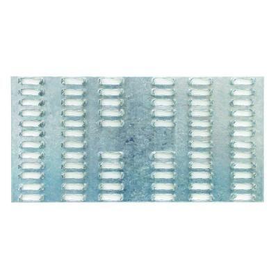 """16ga Galvanized Sheet Metal Plate 4/"""" x 4/"""" Set of 6"""